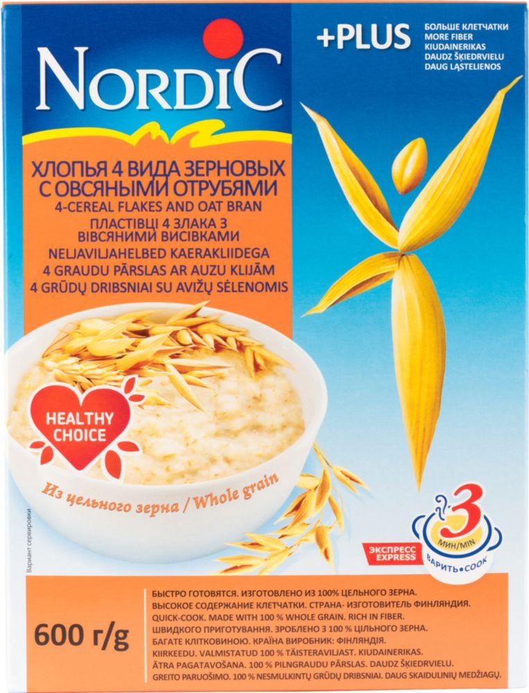 Готовые завтраки, каши, мюсли Мистраль или Готовые завтраки, каши, мюсли Nordic — что лучше