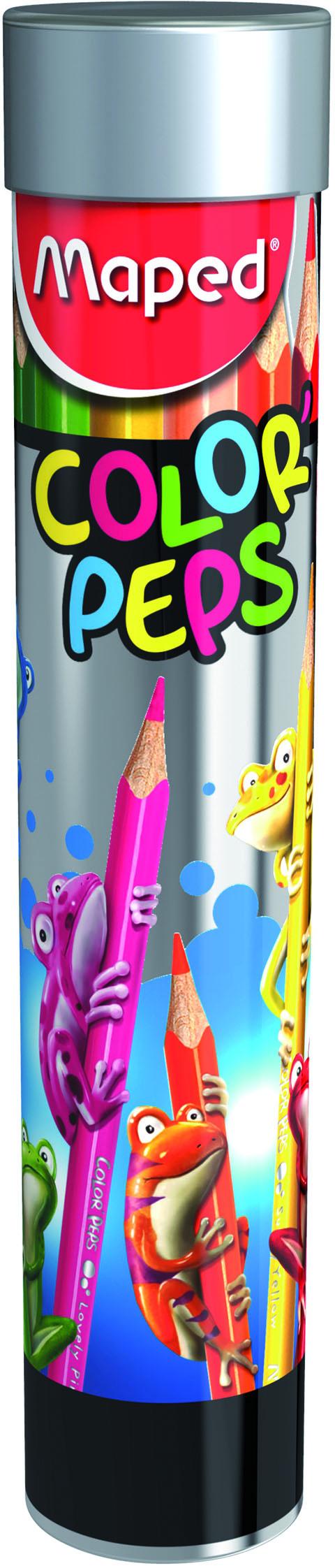 -, Карандаши цветные COLOR'PEPS 12 цветов Maped  - купить со скидкой