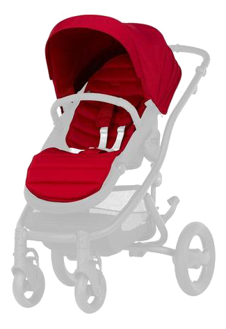 Купить Капюшон для коляски Britax Colour Pack Britax Flame Red для Affinity 2 2000022982, Britax Romer, Комплектующие для колясок