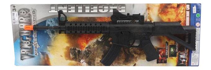 Купить Детское оружие автомат вибрация К78579, Детское оружие Автомат Gratwest К78579, Стрелковое игрушечное оружие