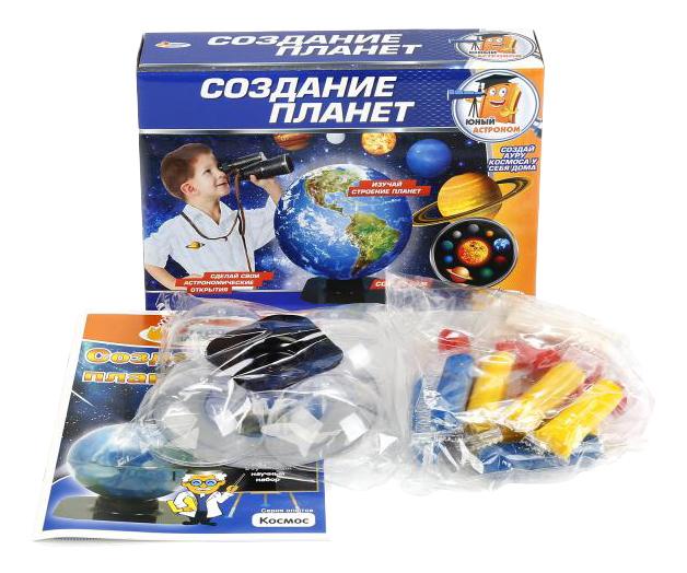 Купить Набор для опытов Юный астроном Создание планет Играем вместе TXH-137-R, Играем Вместе,