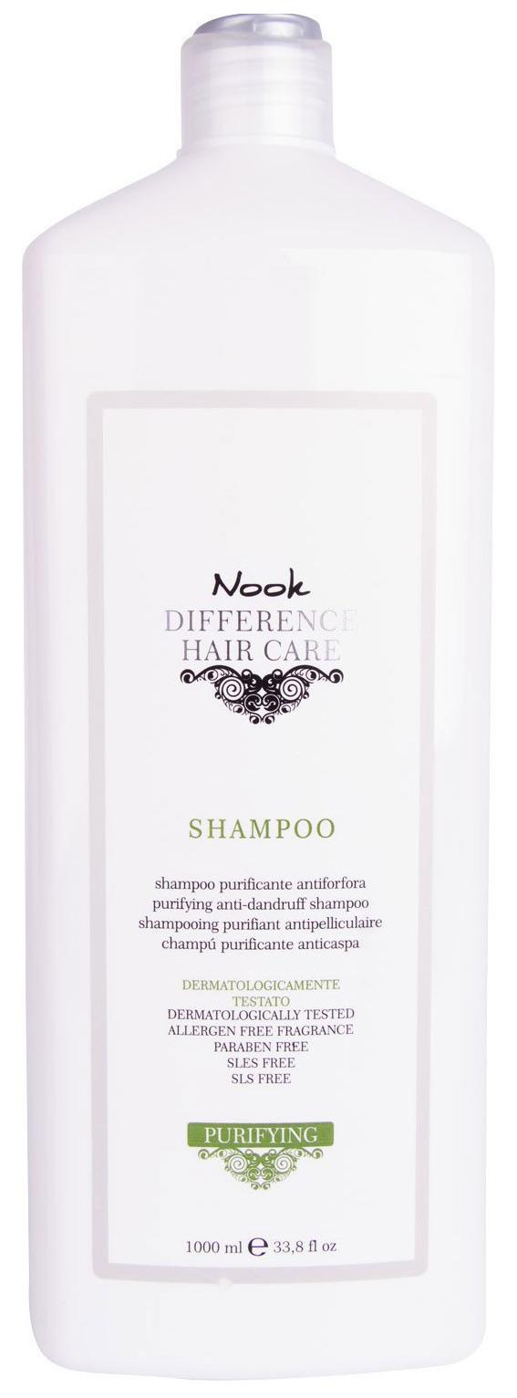 Купить Шампунь Nook Difference Hair Care Re-Balance Shampoo 1000 мл, Difference Hair Care DHC Purifying