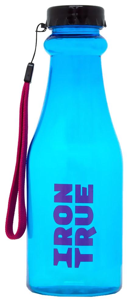 Бутылка IronTrue 1 кам. 550 мл черный,