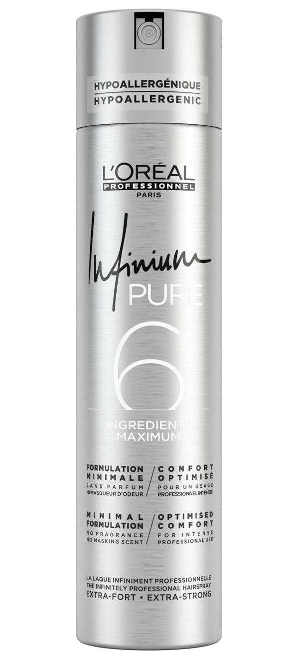 Купить Лак для волос L'Oreal Professionnel Pure Extra Strong экстрасильной фиксации, 500 мл