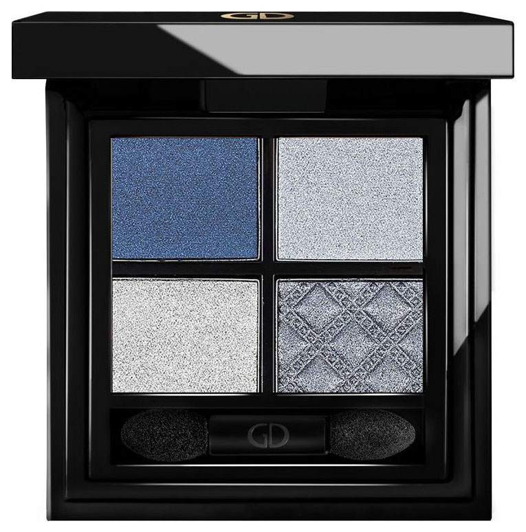 Тени для век Ga-De Idyllic Soft Satin Eyeshadow Palette 27 Celestial Blue фото