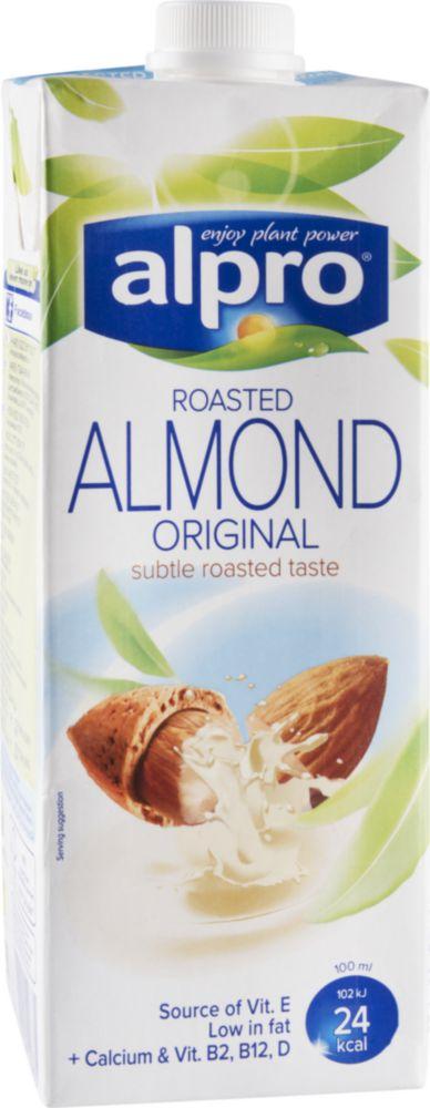Напиток миндальный Alpro обогащенный кальцием и витаминами 1 л