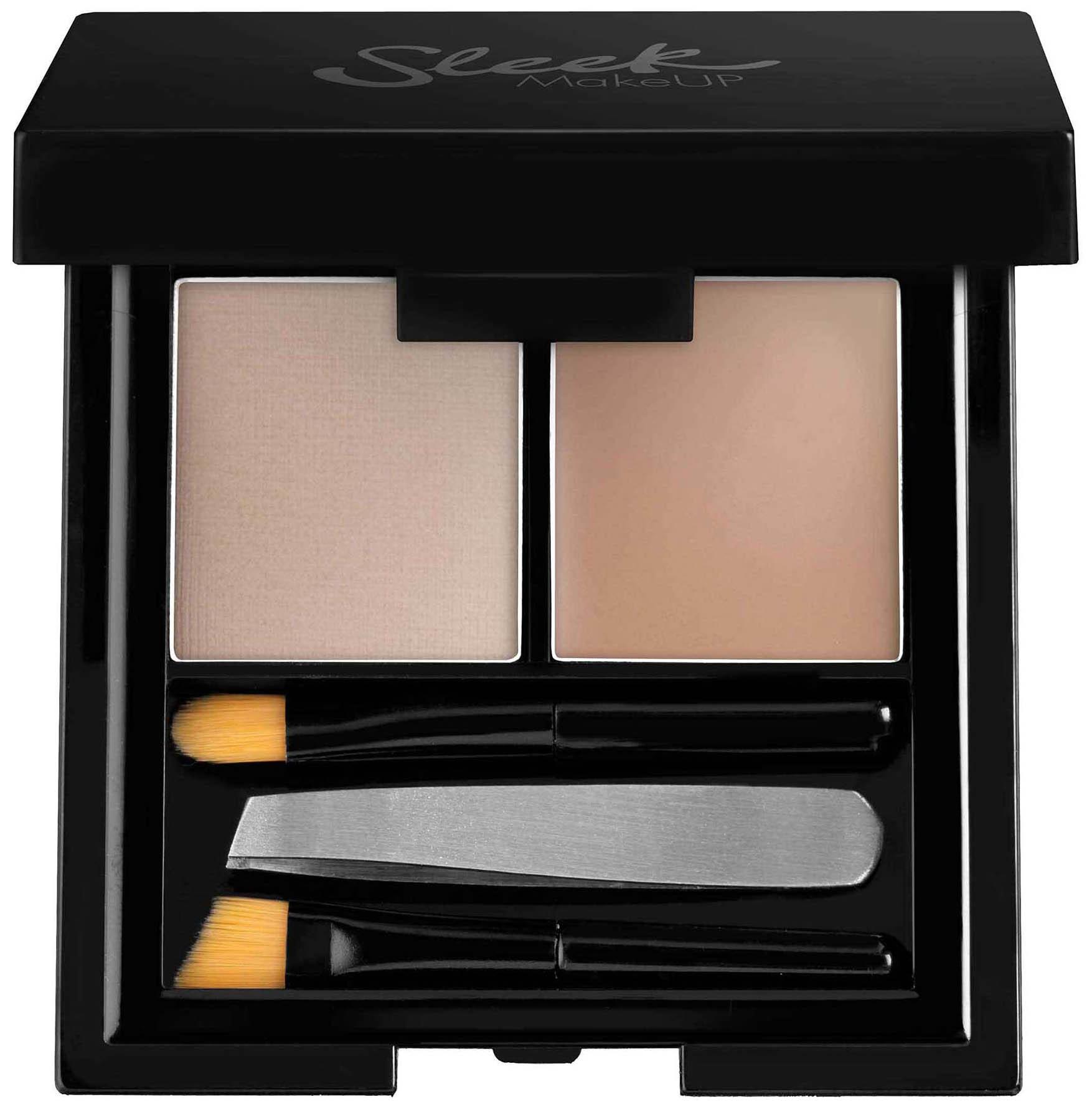 Тени для бровей Sleek MakeUP Brow Kit Light