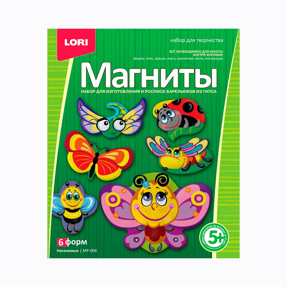 Купить Фигурки на магнитах Насекомые, Lori, Развивающие игрушки