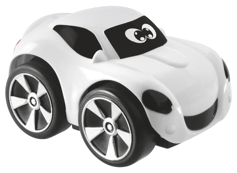 Купить Машинка пластиковая Chicco Turbo Touch Walt белая, Игрушечные машинки