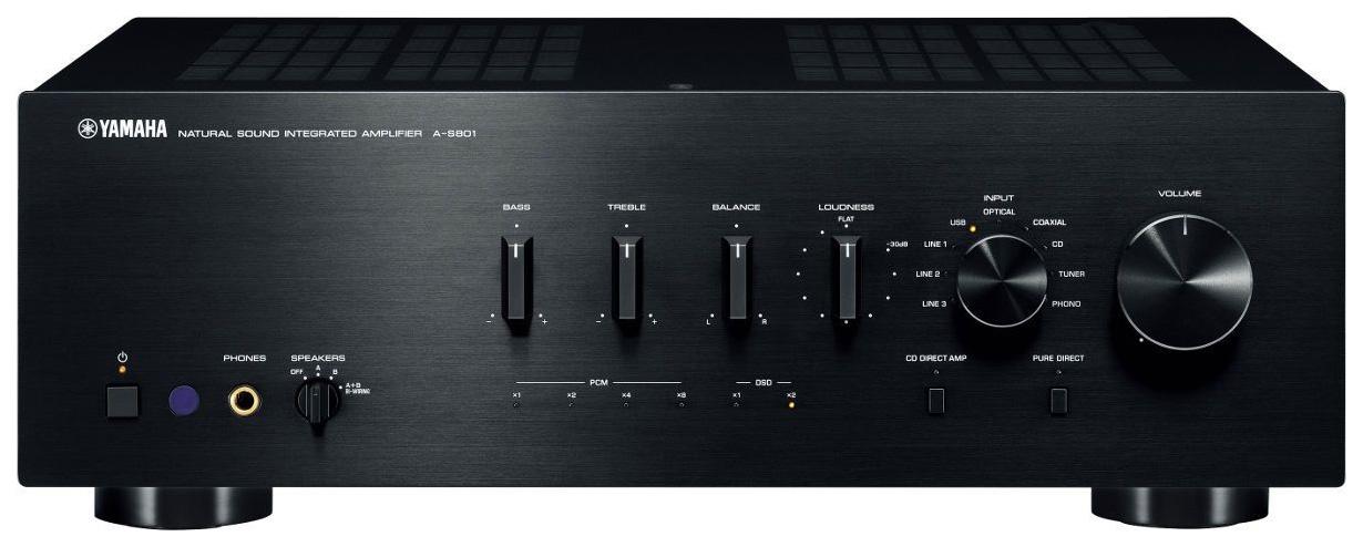 Интегральный усилитель Yamaha A S801 Black
