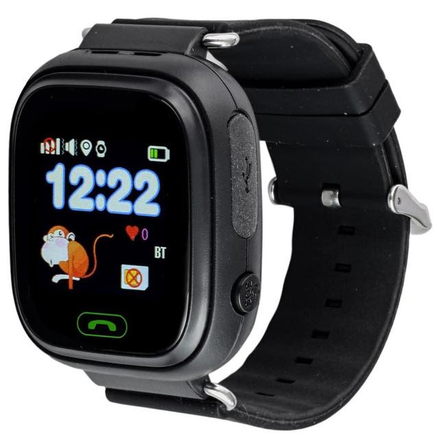 Детские смарт-часы Smart Baby Watch Q90 Black/Black