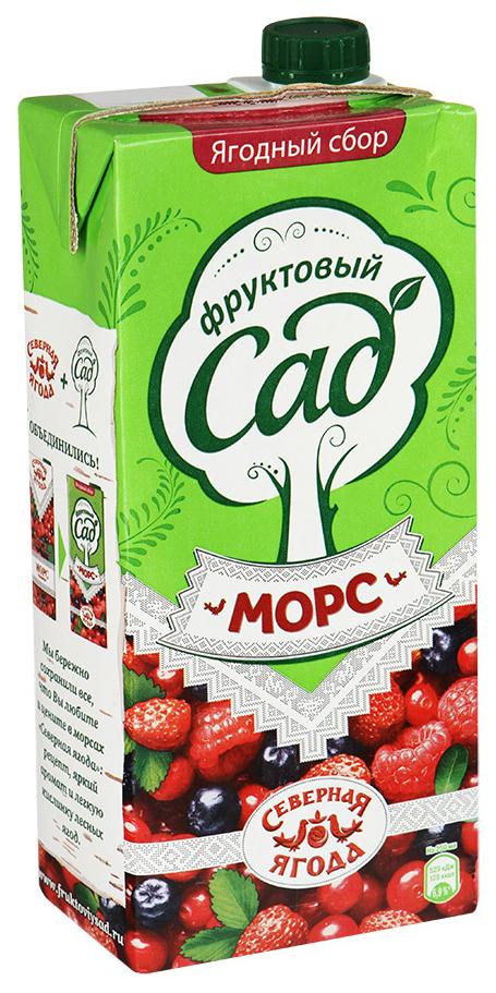 Морс Фруктовый Сад ягодный сбор для детского питания 0.95 л