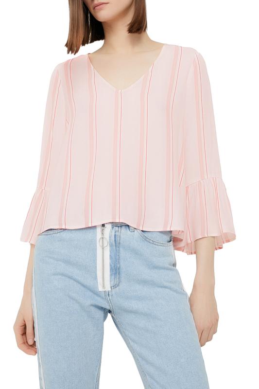 Блуза женская MANGO 81025623-85 PINK розовая XS
