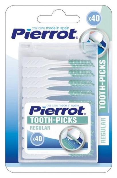 Ершик для зубов Pierrot Toothpicks 40 шт