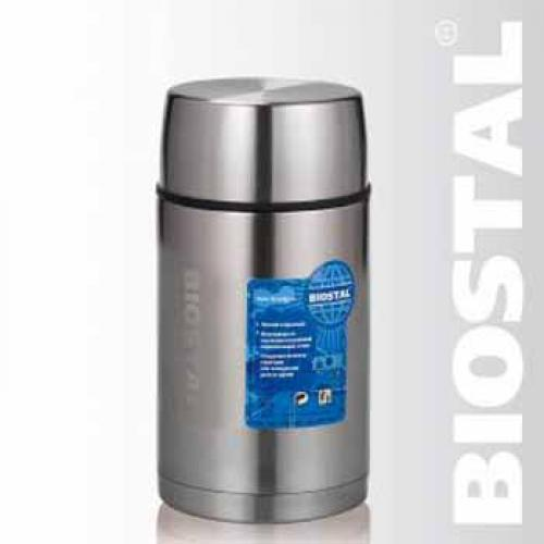 Термос Biostal Авто NRP-1000 1 л серебристый