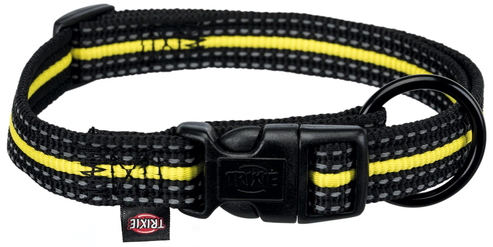 Ошейник для собак TRIXIE Fusion Sporting, черно-желтый, S–M, 30–45см, 17мм
