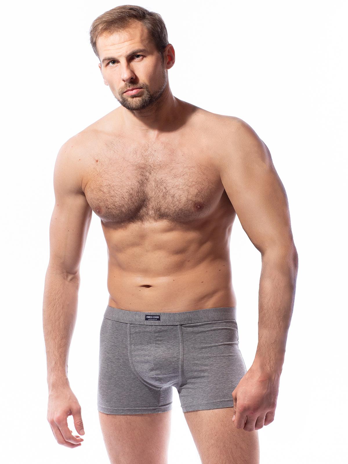 Трусы боксеры мужские Enrico Coveri серые XL