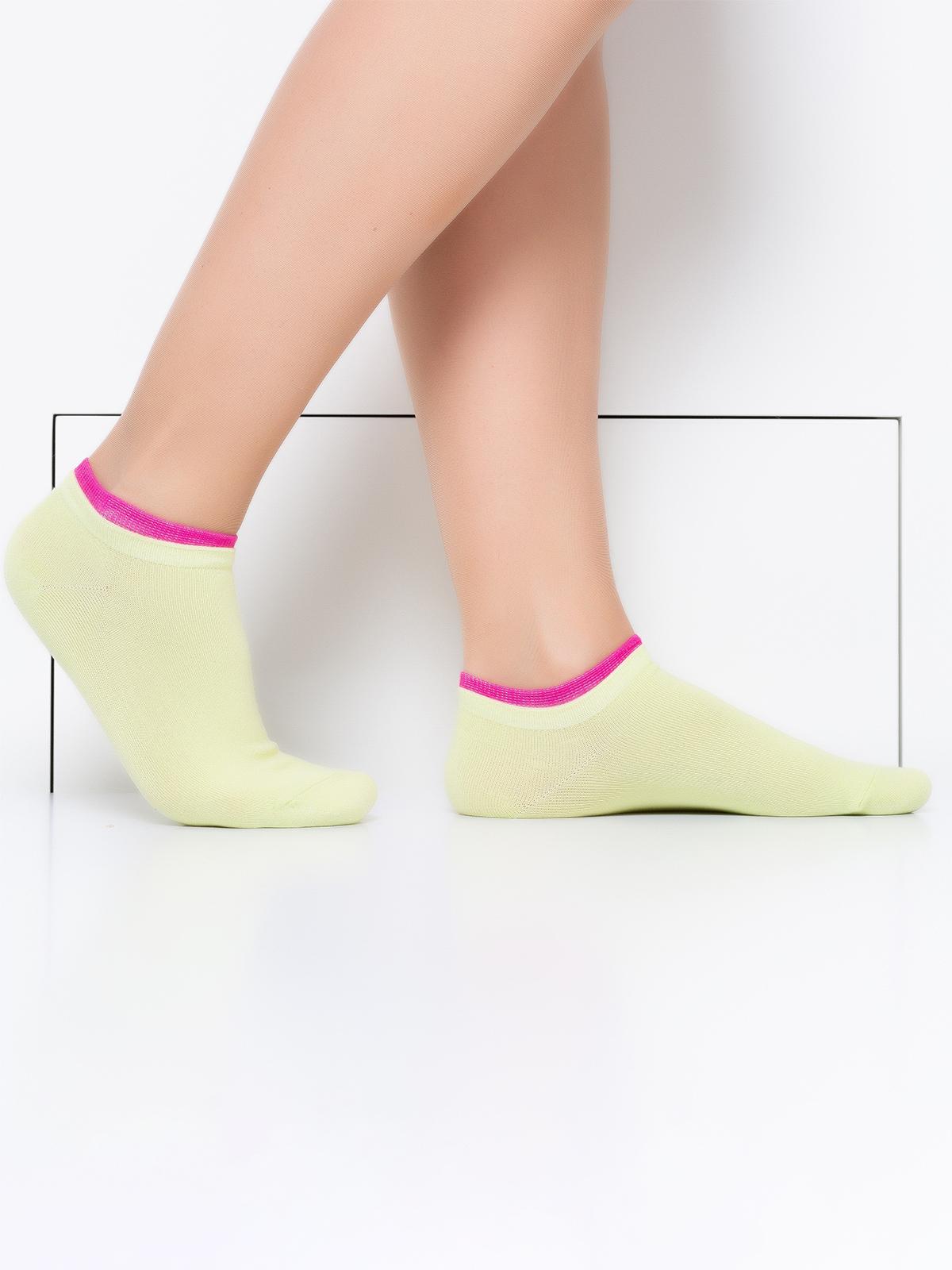 Носки женские Hobby Line зеленые 36-40