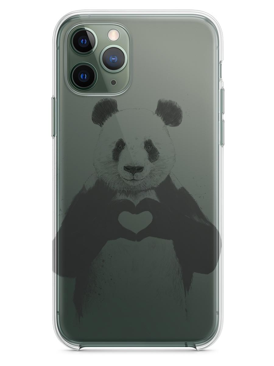 Чехол СМАКС Панда для Apple iPhone 11 Pro  - купить со скидкой