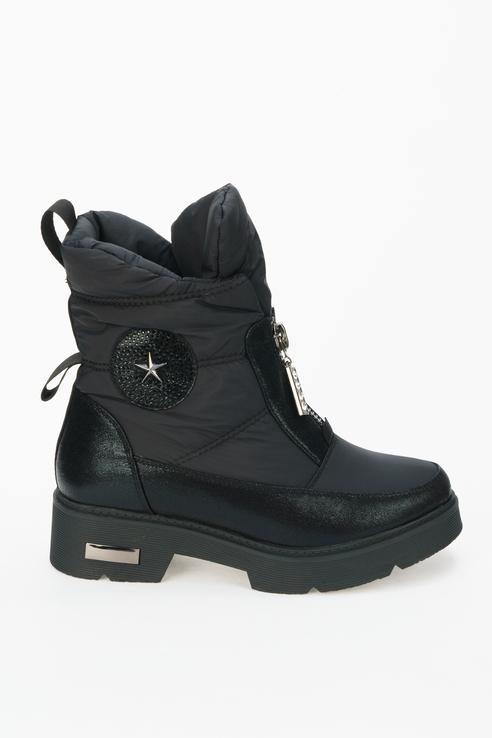 Ботинки женские Betsy черные 38 RU