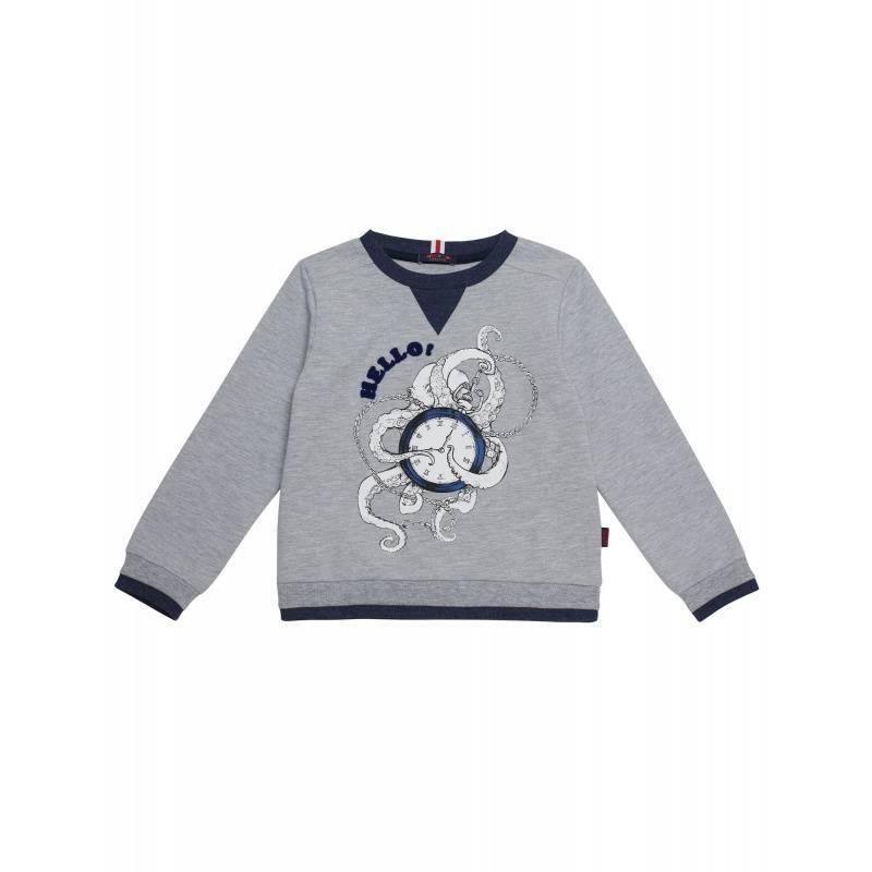 10202095/08, Джемпер Chinzari, цв. серый, 104 р-р, Детские джемперы, кардиганы, свитшоты  - купить со скидкой