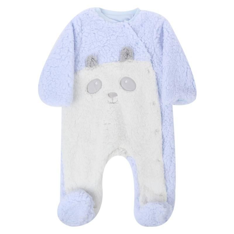 Купить Комбинезон BIBABY, цв. голубой, 80 р-р, Трикотажные комбинезоны для новорожденных