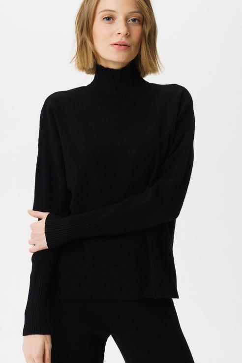 Свитер женский Vero Moda 10221503 черный M фото
