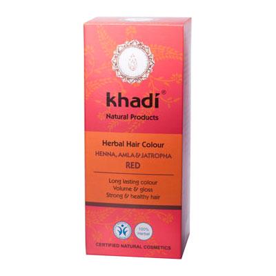 Растительная краска для волос KHADI «Хна, Амла