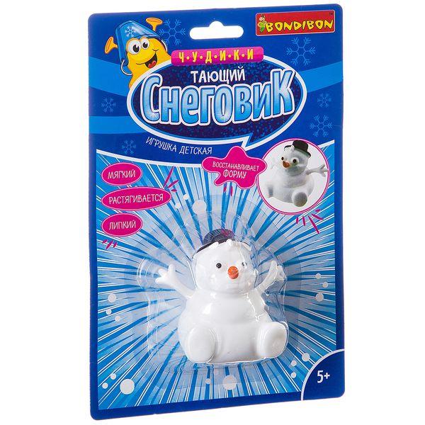 Игрушка детская Тающий снеговик , Bondibon, Лизуны  - купить со скидкой
