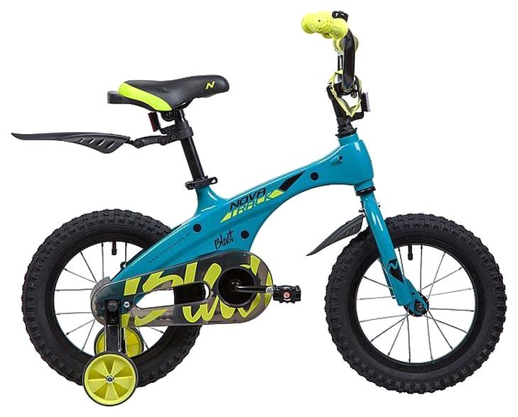 Купить Велосипед Novatrack Blast (цвет: бирюза, 14 ),