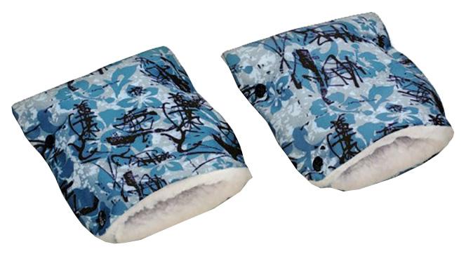Купить Муфта-рукавички на коляску Чудо-Чадо меховая Икебана, Муфты на коляску