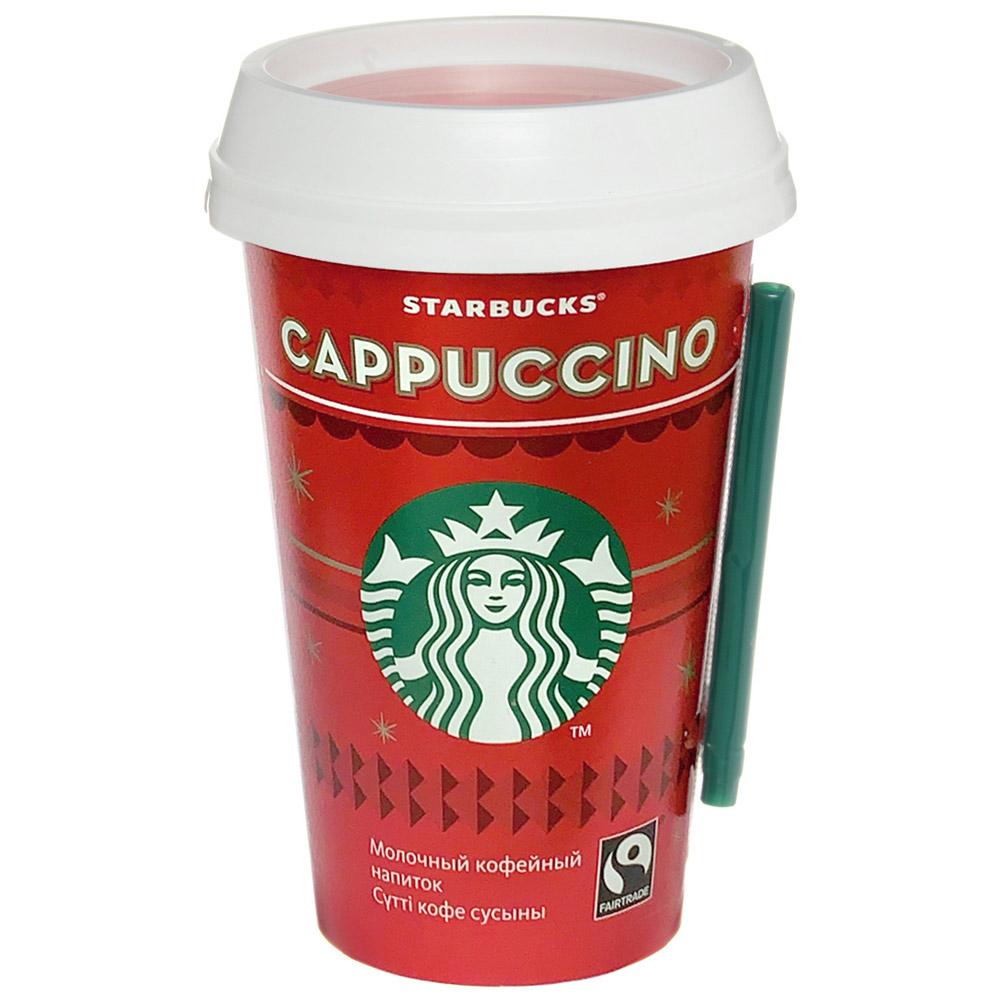 Напиток Starbucks Cappuccino 220мл
