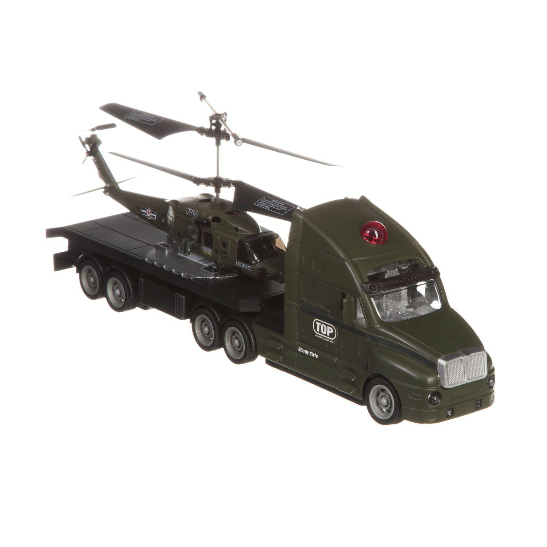 Вертолет с гироскопом на грузовике на аккум свет Gratwest М42380