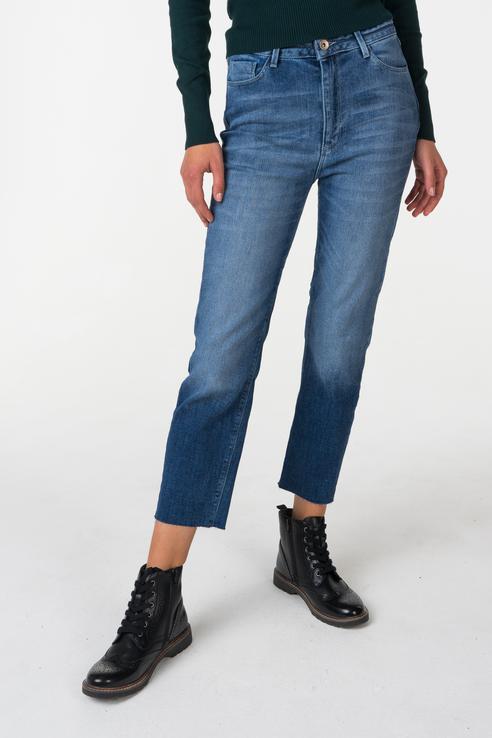 Джинсы женские OXXO OX-VIOLETTA голубые M