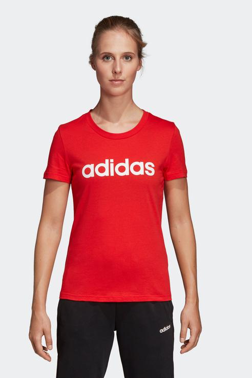Футболка женская Adidas DU0631 красная XS