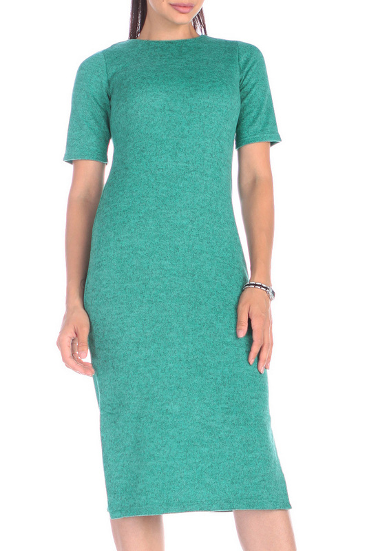 Платье женское Rebecca Tatti RR495_33AS зеленое S