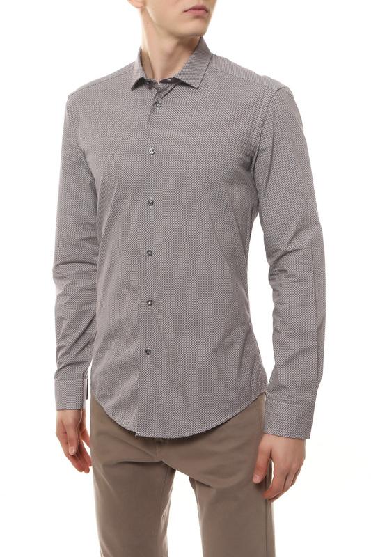Рубашка мужская BRIAN DALES BS52 ST6919.001 красная 40 IT