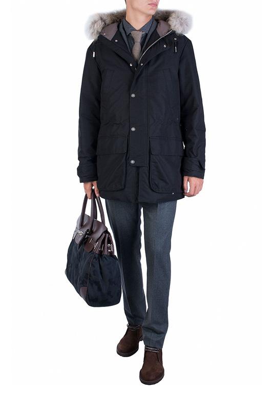Куртка мужская ELEVENTY 89821 черная 3XL фото