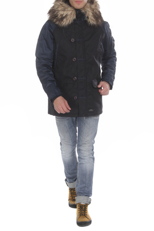 Куртка мужская MHI BY MAHARISHI 6001 синяя L