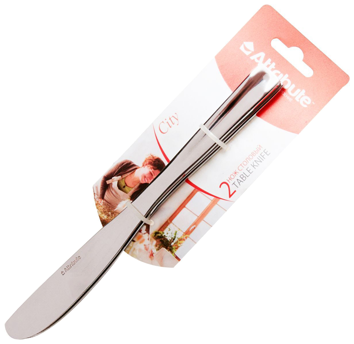 Нож столовый Attribute 230 мм