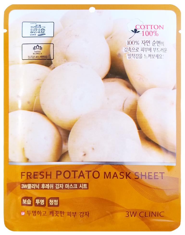 Купить Маска для лица 3W Clinic Fresh Potato Mask Sheet 23 мл