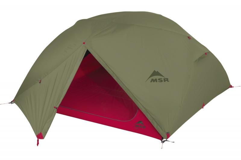 Палатка MSR Elixir четырехместная зеленая