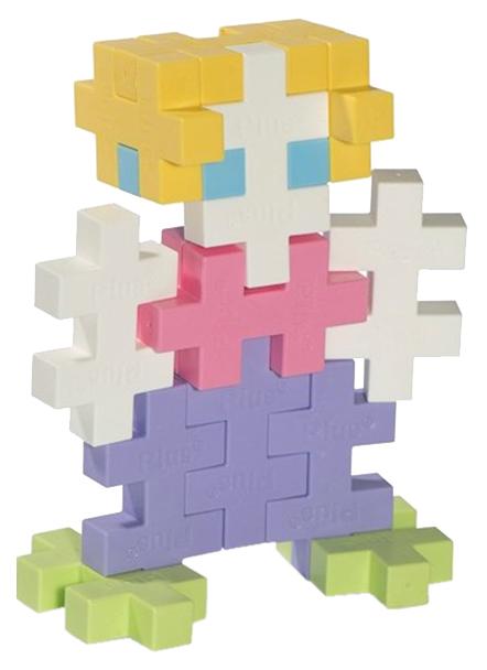 Купить Конструктор пластиковый Plus Plus Разноцветный для создания 3D моделей 3225, Конструкторы пластмассовые