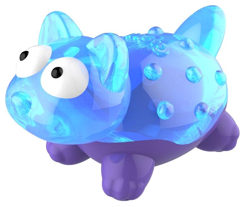 Мягкая игрушка для собак GiGwi Лиса с пищалкой, длина 8 см