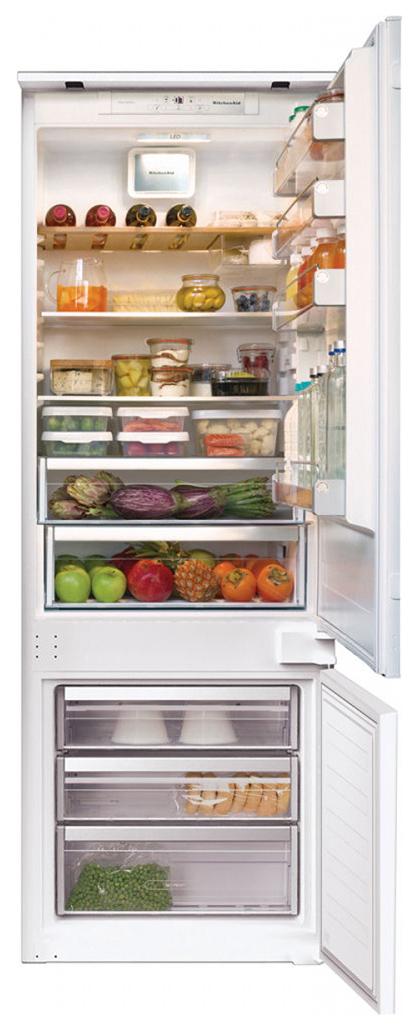 Встраиваемый холодильник KitchenAid KCBDS20701 White