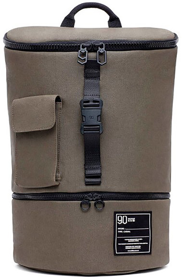 Рюкзак Xiaomi 90 Points Chic Leisure Backpack 2078 зеленый фото