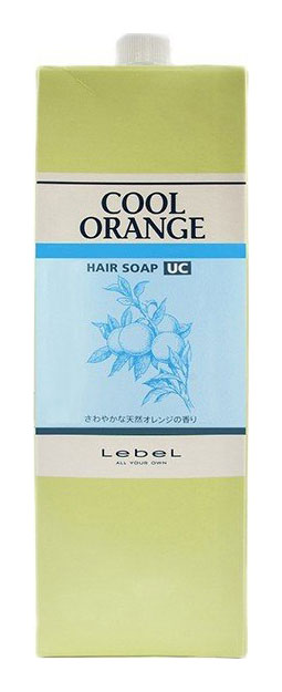 Купить Шампунь Lebel Cool Orange Hair Soap Ultra Cool 1, 6 л