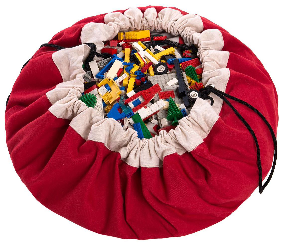 Мешок для хранения игрушек и игровой коврик 2в1 Play#and#Go Красный