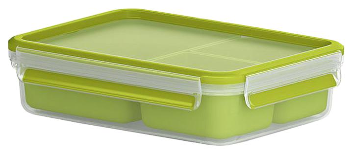 Контейнер для хранения пищи EMSA Clip#and#Close 3100518100 Зеленый, прозрачный