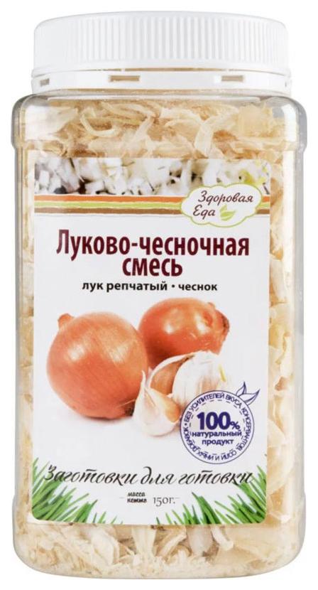 Луково-чесночная смесь Здоровая еда сушеная 150 г фото
